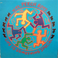 life is something special (peech boys) by keith haring