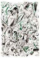 untitled i & ii (2 works) by cecily brown