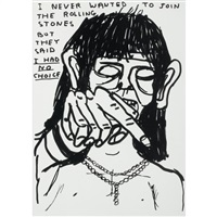 untitled (rolling stones) by david shrigley