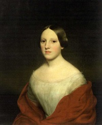 portrait of mrs. robert mackay by francis alexander