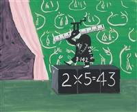 mr. arithmetic by david hockney