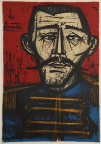 le dompteur by bernard buffet