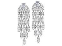 ear pendants (pair) by cartier