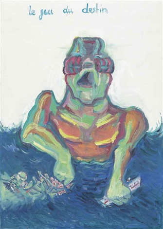 le jeu du destin the game of destiny by maria lassnig