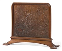 fire screen by louis hestaux