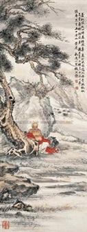 无量寿佛 (buddha) by qian xiong