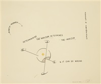 through the haze by lawrence weiner