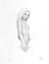 une jeune fille dénudée by aslan