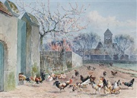the chicken run by william baptiste baird