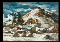 snow landscape by kasaguchi kigai
