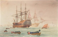 nelson's return by george frederick gregory