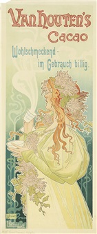 van houten's cacao by henri privat-livemont