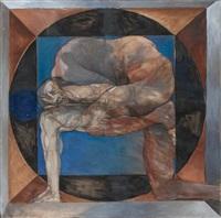 self-wrestling by jan stussy