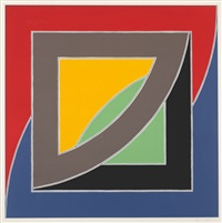 river of ponds iii (from newfoundland series) by frank stella