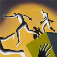 off the top by mark kostabi