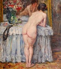 vor dem spiegel by rudolf petuel