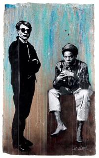 warhol & basquiat by jef aerosol