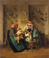 le repas du matin by charles edouard frère