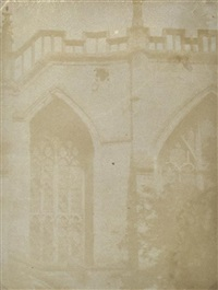 windows of abbey by william henry fox talbot