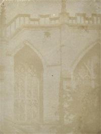 windows of abbey by william henry fox talbot