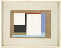 1942 (painted relief) by ben nicholson