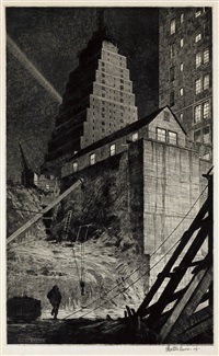 the tree, manhattan by martin lewis