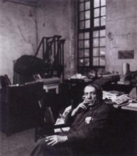 picasso dans son studio rue des grands augustins by peter rose pulham