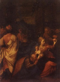 the adoration of the magi by italian school-ferrara (17)
