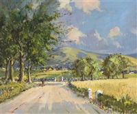 near portsalon, county donegal by william jackson