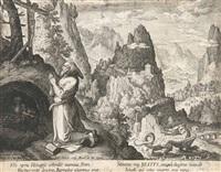 12 kupferstiche (after marten de vos, from oraculum anachoreticum) (12 works) by jan the elder ii and raphael sadeler ii