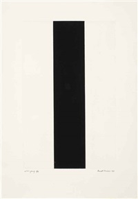 untitled etching 2 by barnett newman