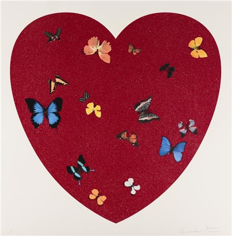 big love diamond dust version by damien hirst