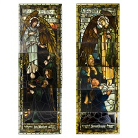 panels (pair) by stephen adam