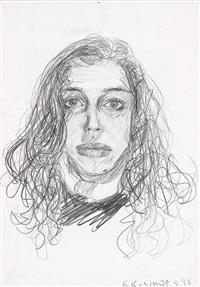 ohne titel (selbstportrait) by elke silvia krystufek