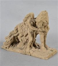 femme et cheval by herbert geldhof