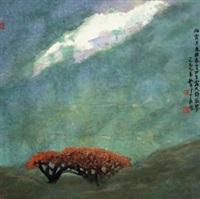 秋宵 by zhou shaohua