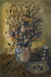 vase fleuri by joseph grégoire