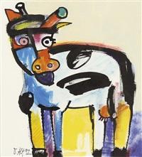 nachbars kuh by otmar alt