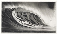 study for white tunnel (b) by robert longo