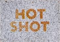 hot shot by ed ruscha