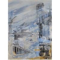 the blue city by valery koshlyakov