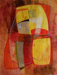 modern space iii by sara abbott