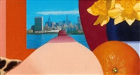 bedroom collage by tom wesselmann