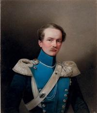 portrait of crown prince friedrich wilhelm alexander herzog von württemberg by vladimir ivanovich hau