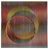 portfolio. transchromies (5 works) by carlos cruz-diez