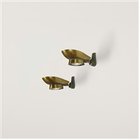 sconces (pair) by maxime old