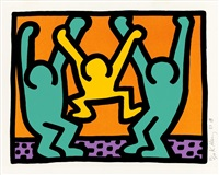 from pop shop i by keith haring