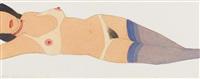 reclining nude #18 by tom wesselmann