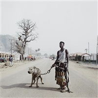 mallam galadima ahamadu with jamis, nigeria from the hyena and other men by pieter hugo