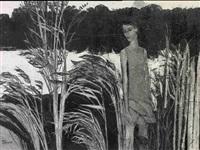 girl by a lake by john scorror o'connor